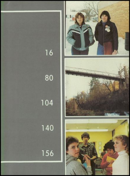 1984 River Falls High School Yearbook Page 7