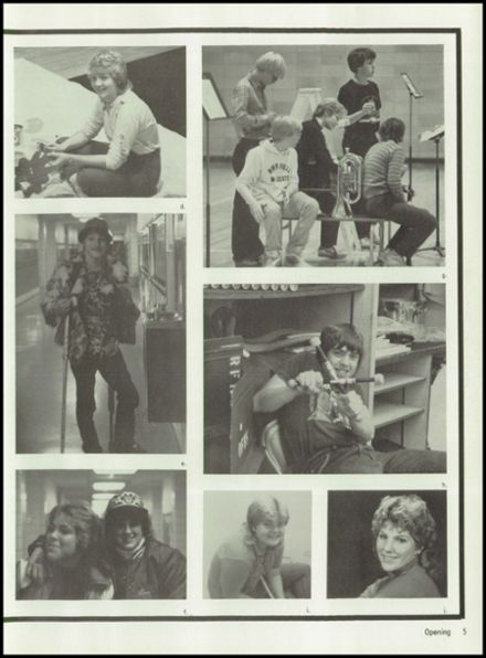 1984 River Falls High School Yearbook Page 9