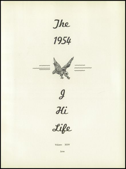 1954 Jefferson Area High School Yearbook Page 7
