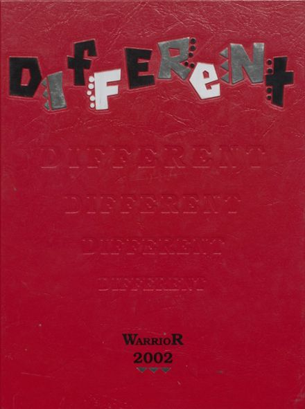 2002 Washington High School Yearbook Cover
