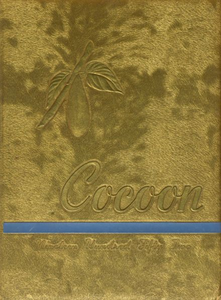 1952 Coon High School Yearbook Cover
