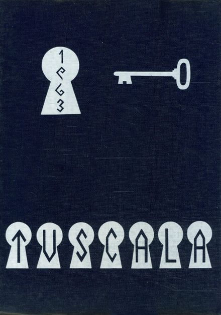 1963 Tuslaw High School Yearbook Cover