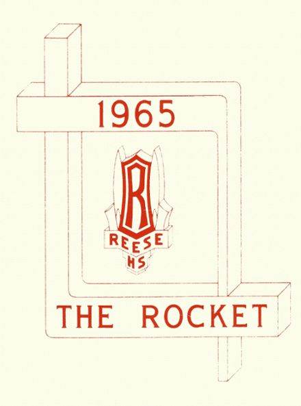 1965 Reese High School Yearbook Cover