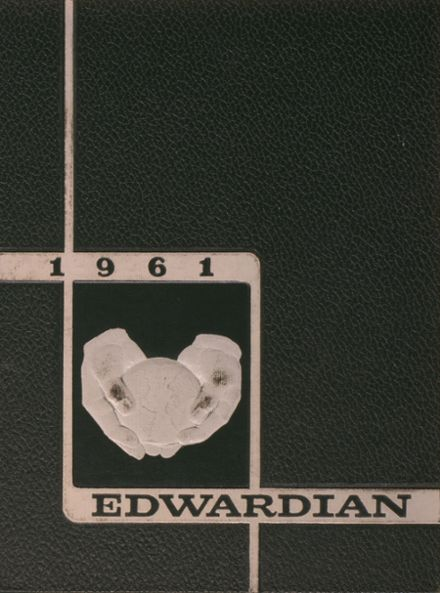 1961 St. Edward High School Yearbook Page 1