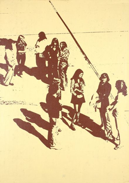 1976 Saratoga High School Yearbook Cover