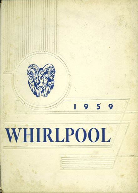 1959 Pennell Institute Yearbook Cover