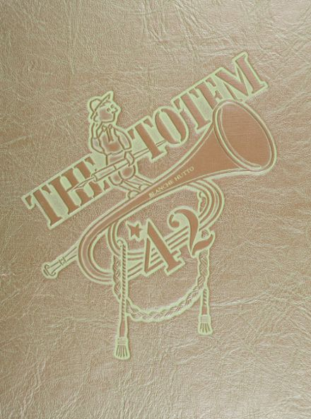 1942 South Side High School Yearbook Cover