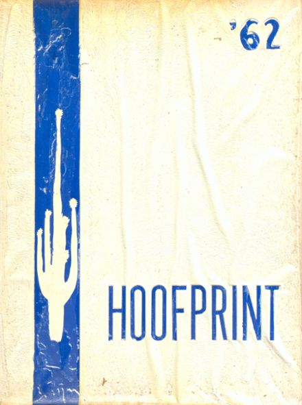 1962 San Dieguito High School Yearbook Cover