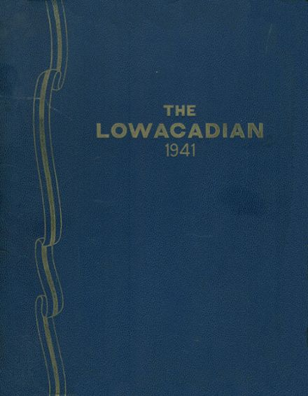 1941 Lowville Academy Yearbook Cover