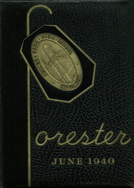 1940 Forest Park High School 406 Yearbook Cover