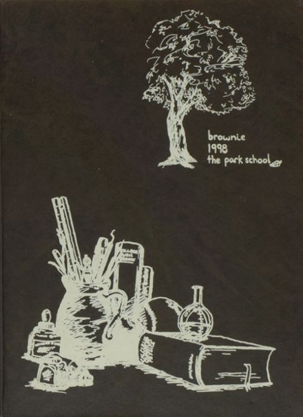 1998 Park High School Yearbook Cover