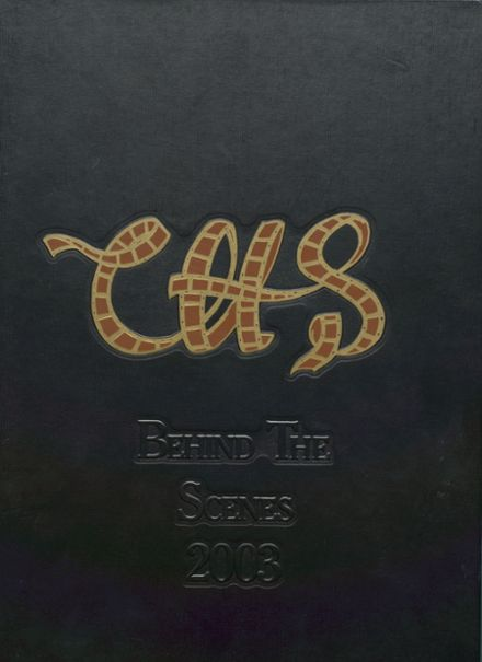 2003 Capital High School Yearbook Cover