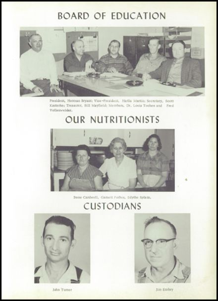 1960 Seymour High School Yearbook Page 7