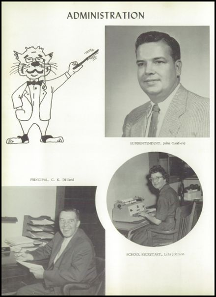 1960 Seymour High School Yearbook Page 8