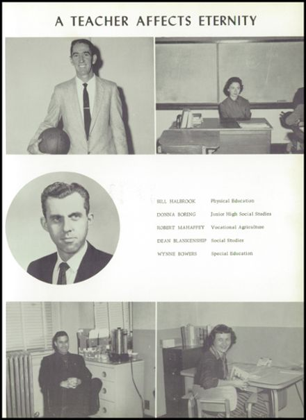 1960 Seymour High School Yearbook Page 9