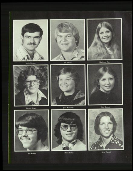 1978 Chariton High School Yearbook Page 9