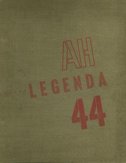 1944 Arthur Hill High School Yearbook Cover