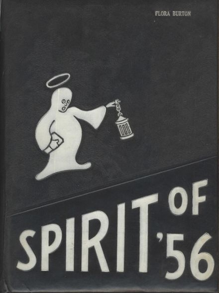 1956 Honeoye Falls-Lima High School Yearbook Cover