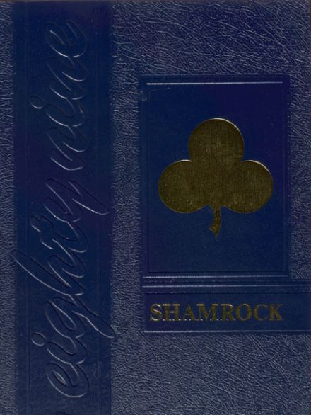 1989 Sacred Heart Cathedral Preparatory Yearbook Cover