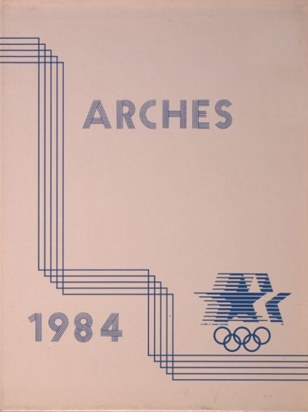 1984 Notre Dame High School Yearbook Cover