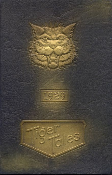 1929 Enumclaw High School Yearbook Cover