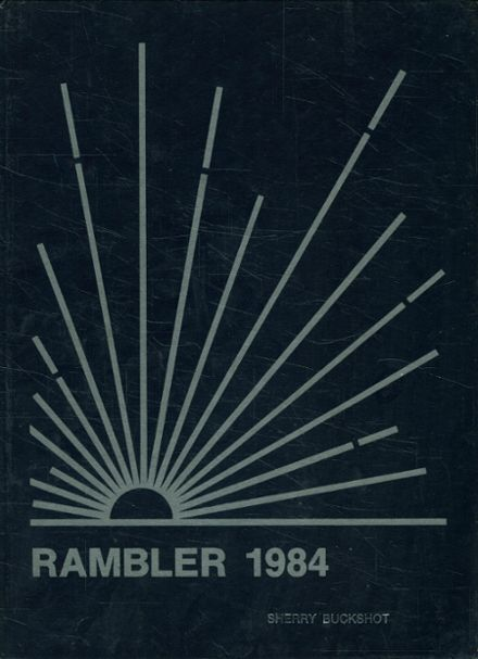 1984 Brown County High School Yearbook Cover