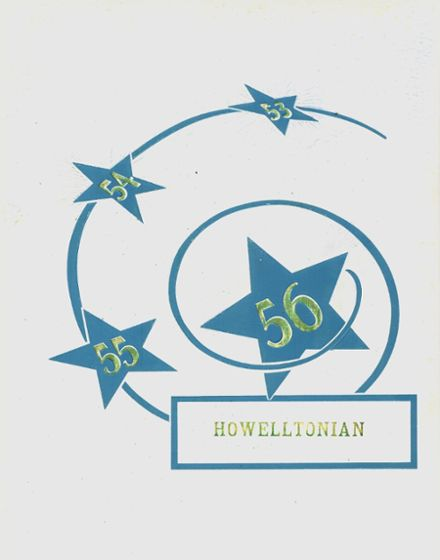 1956 Francis Howell High School Yearbook Cover