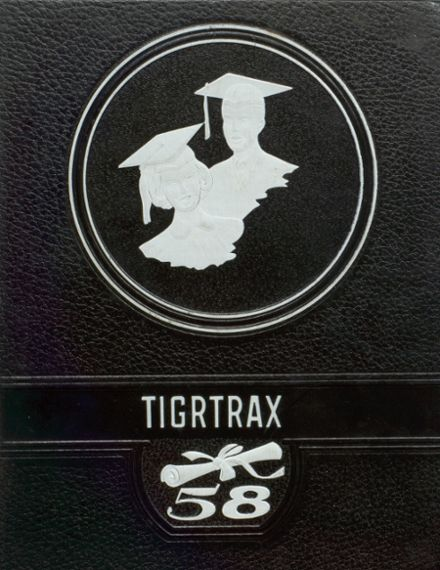 1958 Richwood High School Yearbook Cover