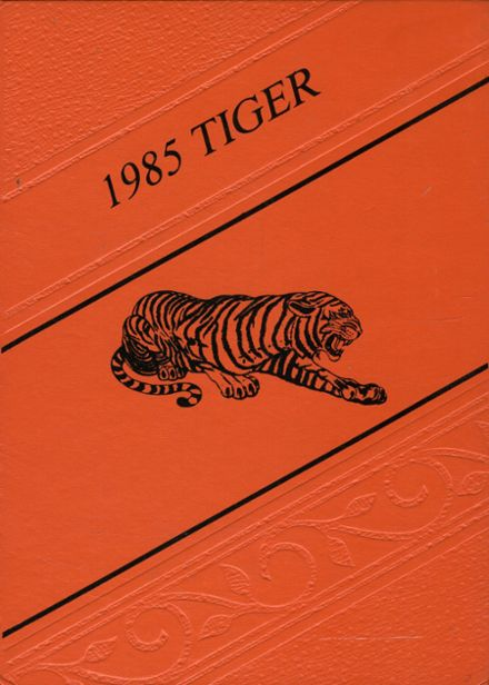 1985 Tahlequah High School Yearbook Cover