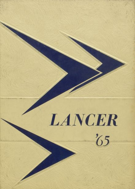 1965 Canby High School Yearbook Cover