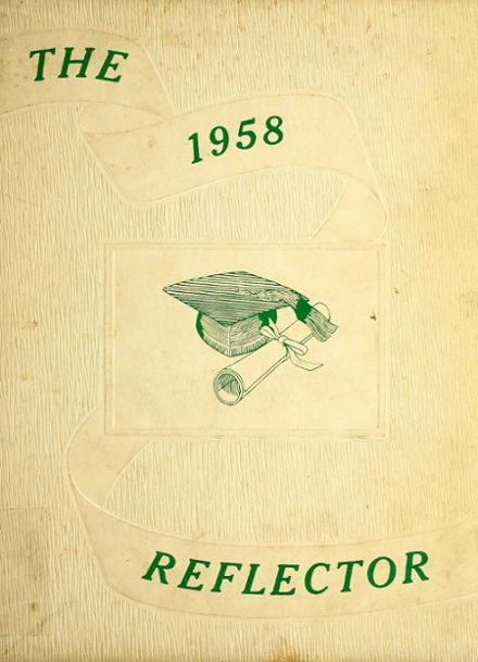 1958 Lancaster High School Yearbook Cover