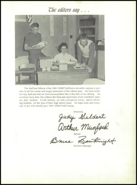 1960 Ganado High School Yearbook Page 7