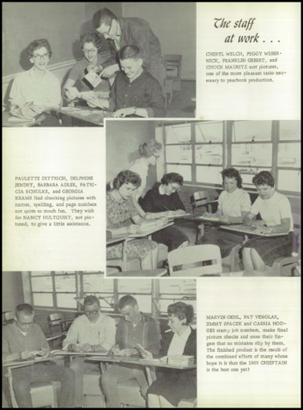 1960 Ganado High School Yearbook Page 8