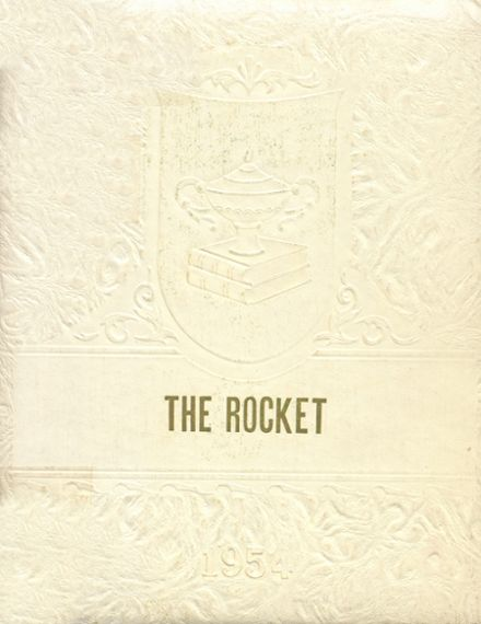 1954 Gill Township High School Yearbook Cover