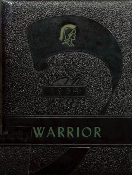 1954 McHenry Community High School Yearbook Cover