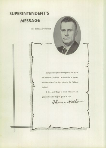 1959 Pickton High School Yearbook Page 8