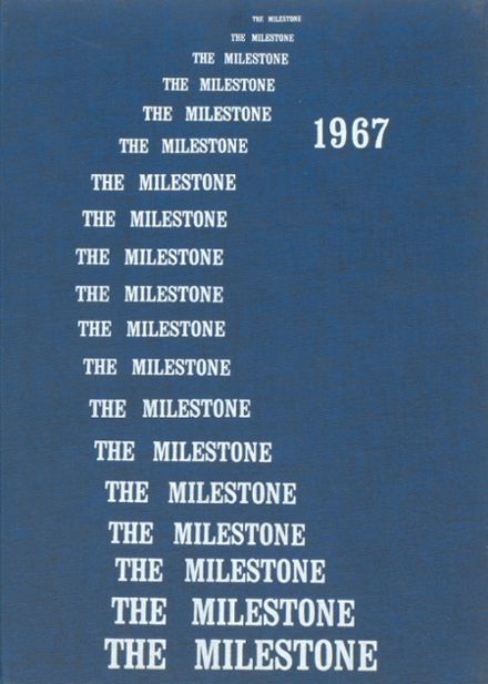 1967 Human Resources High School Yearbook Cover