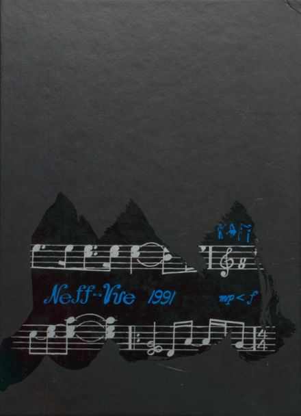 1991 Manheim Township High School Yearbook Cover