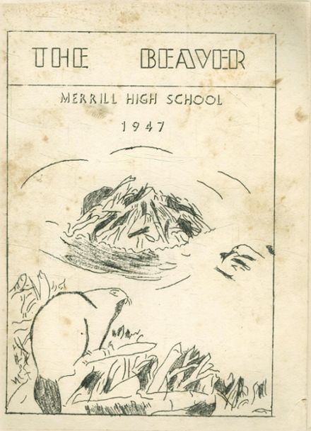 1947 Merrill Hill Alternative School Yearbook Cover