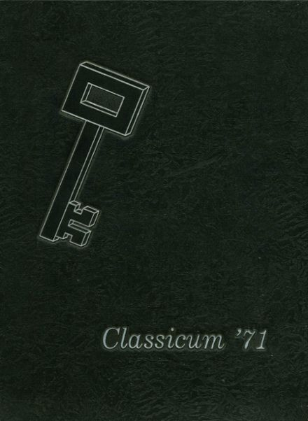 1971 Ogden High School Yearbook Cover