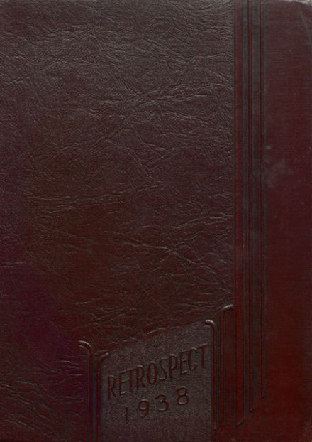 1938 Blume High School Yearbook Cover