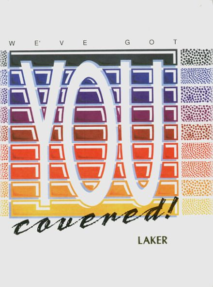 1991 Round Lake High School Yearbook Cover