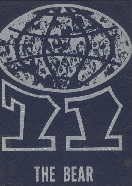 1971 Central Valley High School Yearbook Cover