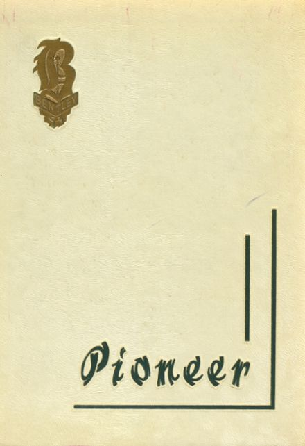 1953 Bentley High School Yearbook Cover