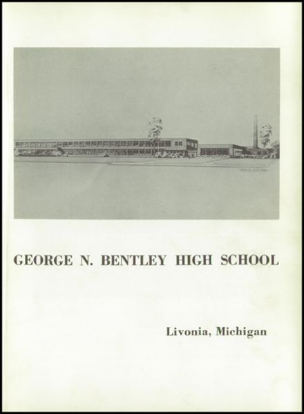 1953 Bentley High School Yearbook Page 5