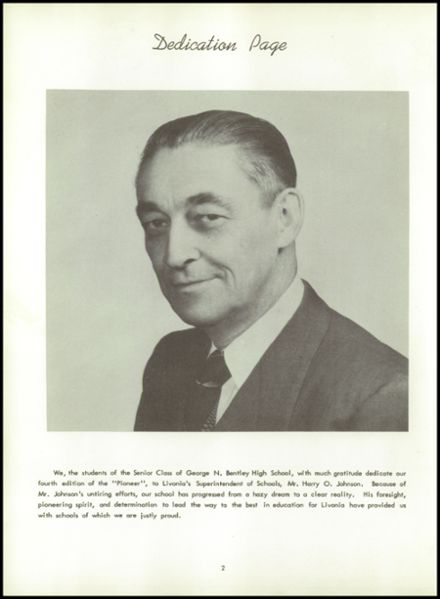 1953 Bentley High School Yearbook Page 6