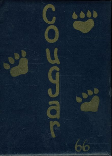 1966 Canby Union High School Yearbook Cover