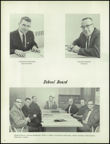 1966 Canby Union High School Yearbook Page 8