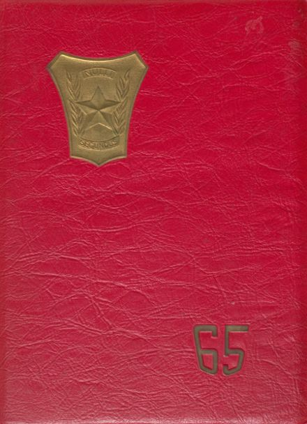 1965 Croft High School Yearbook Cover