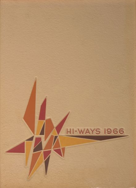 1966 North Fulton High School Yearbook Cover